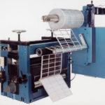 Etiketten-Schneidaggregat mit Gitteraufrollung // Label-die cutting module with matrix rewinder