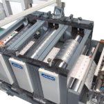 PBO-Präge-,Rill- und Schneideanlage // PBO-embossing, creasing and die cutting machine
