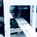 Stanzaggregat für Diagnosestreifen // Punching module for diagnostic test stripes